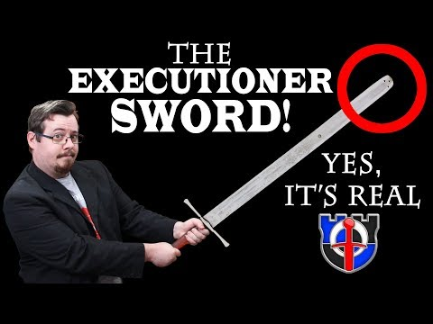 Underappreciated historical weapons THE EXECUTIONER SWORD