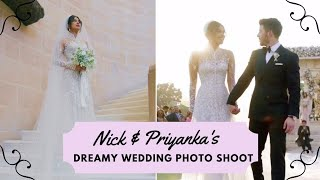 13 Dreamy Moments From NickYanka's Wedding Photoshoot By People Magazine