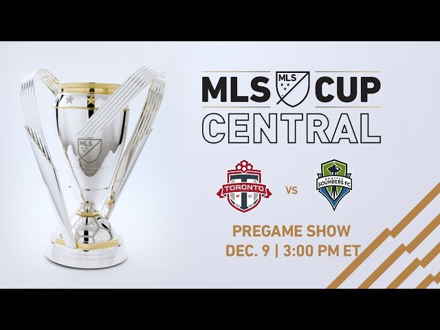 MLS Cup Central: Game Day Pregame | LIVE
