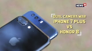 Dual Camera War | Apple iPhone 7 Plus vs Honor 8