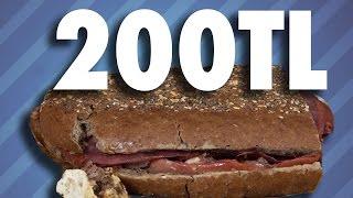 200 Liralık Tost Yaptık - Tadı Nasıl Oldu?