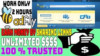 How to Earn Money Online From Adf ly 10$ Per Hour By Sharing Links Urdu/Hindi