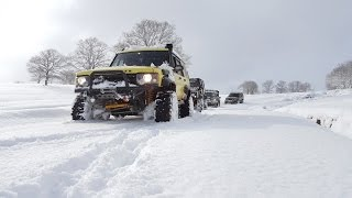 EXTREME SNOW OFFROAD  **Land Rover
