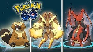 ¡MEJORES EVOLUCIONES 4 GENERACIÓN! BIBAREL LOPUNNY KRICKETUNE - Pokémon GO [Keibron]