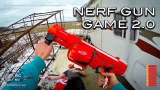 Nerf meets Call of Duty: Gun Game 2.0 | First Person in 4K!