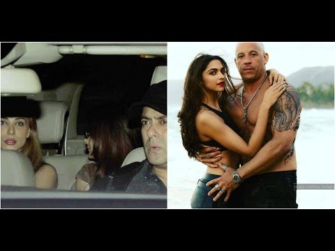 Xxx Mp4 Salman Enjoys Dinner With Iulia Alvira Deepika Van Diesel To Promote XXx In India 3gp Sex