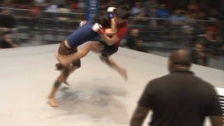Jiu Jitsu vs Muay Thai; MMA Guard Pull