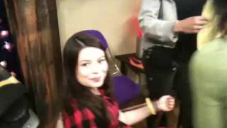 ICarly: Getting Ready To Shoot
