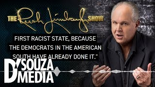 UNBELIEVABLE: Rush & D'Souza reveal what Hitler copied directly from the Democrats