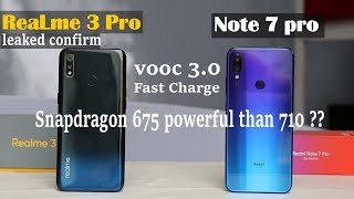 Realme 3 pro vs Redmi Note 7 pro #Specifications#difference#vooc 3.0#camera