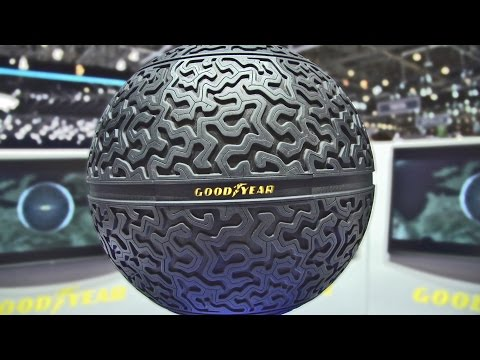The Spherical Tire by Goodyear - Technical Features