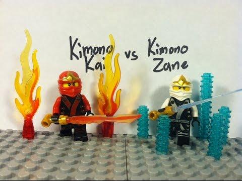 Lego Ninjago: Kimono Kai vs Kimono Zane