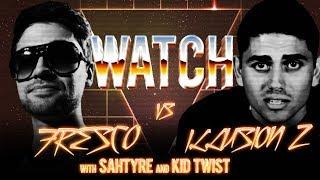 WATCH: FRESCO vs ILLUSION Z with SAHTYRE and KID TWIST