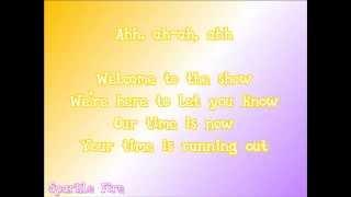 MLP: Rainbow Rocks - Welcome To The Show - Lyric