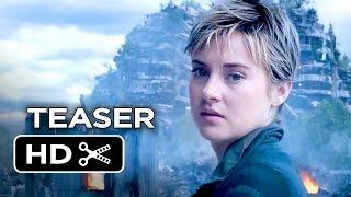 Insurgent Official Teaser Trailer #1 (2015) - Shailene Woodley Divergent Sequel HD
