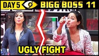Hina Khan Wants To THROW Arshi Khan Out | Bigg Boss 11 Day 5 – Episode 5 | 6th October 2017 Update