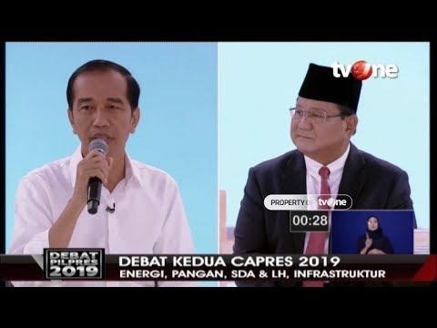 Xxx Mp4 DEBAT SERU Jokowi Vs Prabowo Soal Infrastruktur TvOne 17 2 2019 3gp Sex
