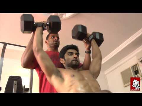 Atharvaa's Six Pack Workout - Ananda Vikatan