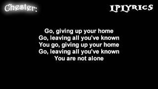 Linkin Park- Not Alone [ Lyrics on screen ] HD