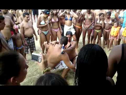 TAMBORES DE PLAYA CARIBE EN LA GUAIRA EL 24 DE JULIO