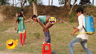 Must Watch New Funny Comedy Videos 2019 | Episode 36 | #LungiFun