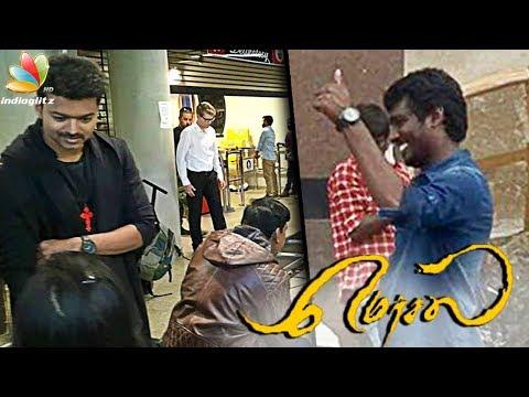 Mersal Shooting Spot : Director Atlee , Vijay movie in final stage   Latest Tamil Cinema News