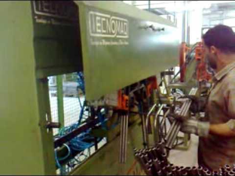 Tecnomaq Curvadoras maquina curvar dobrar tubos.