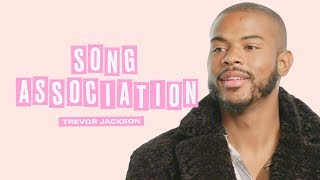 Trevor Jackson Sings Drake, Beyoncé and Chris Brown in a Game of Song Association | ELLE