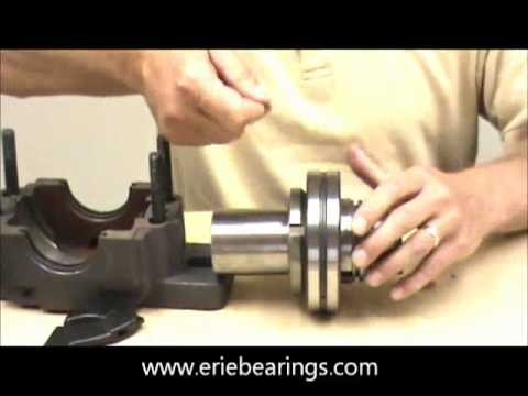 How to assemble a SAF adapter mounted Spherical Pillow Block Bearing