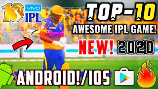 🔥BAAP! TOP 10 Ultra Realistic IPL 2019 Cricket Games For ANDROID | Full HD Graphics | Hindi