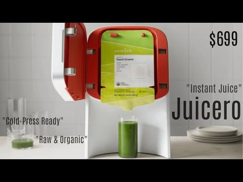 Juicero Does For Juice What Keurig Does For Coffee