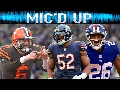 Best Mic d Up Sounds of the 2018 Season Trash Talk Fails Celebrations & More