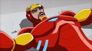 Captain America Civil War - Trailer cartoon Italian