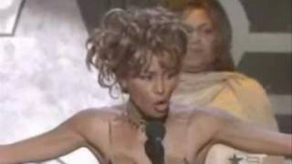 Whitney Houston thanks Christina Aguilera