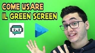 TUTORIAL GREEN SCREEN/CHROMA KEY: Come far diventare uno sfondo trasparente