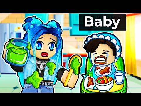 The WORST Baby in Roblox Daycare