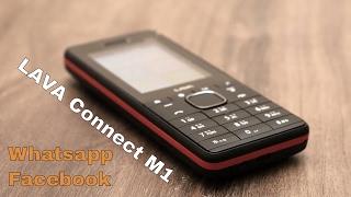 Lava Connect M1 Review - WhatsApp, Facebook इस पर चलता है