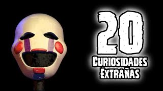 TOP 20: Las 20 Curiosidades De Puppet De Five Nights AT Freddy's | Fnaf | Fnaf