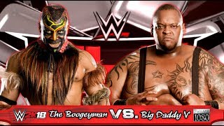 WWE2K18 GAMEPLAY: The Boogeyman VS. Big Daddy V [incl. Mods]