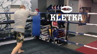 Бой с тенью (Бокс). Андрей Басынин демонстрирует варианты тренировки боя с тенью.
