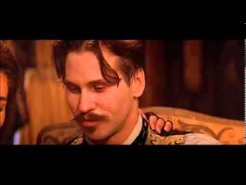 Tombstone ....Doc Holliday Says - ' I Know  ,Lets Have A Spelling Contest ' ( Full Scene )
