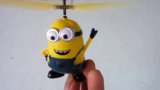 Flying Minion mini RC helicopter