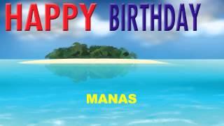 Manas - Card Tarjeta_945 - Happy Birthday
