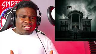 FIRST TIME HEARING - NF - Paralyzed (Audio) REACTION