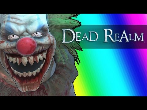Dead Realm Funny Moments Halloween Edition w New Clown Ghost