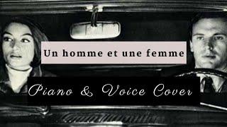 Mireille Mathieu - Un homme et une femme (piano+vocal cover)