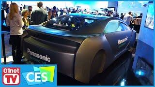 Panasonic se fait plaisir avec ce concept d'habitacle auto ! CES 2017