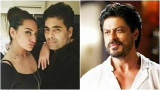 Sonakshi & Karan Johar Confused   Shahrukh To Host Again On Tv