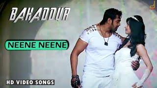 BAHADDUR - NEENE NEENE VIDEO SONG|