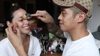 My Boyfriend Does My Makeup | Brian Puspos + Aja Dang